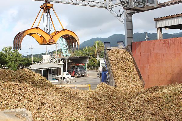に操業を再開した石垣島製糖 ...