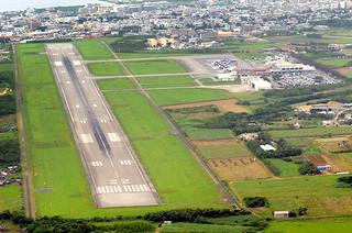 11月ごろに解体工事の着工が予定されている旧石垣空港=2013年2月13日撮影