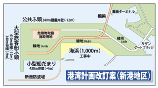 港湾計画改定案(新港地区)