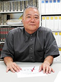 2013日本学賞の受賞が決まった沖縄県立芸術大学の波照間永吉教授