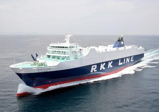石垣発台湾高雄行の航路で6月14日から運航する「みやらびⅡ」(琉球海運提供)