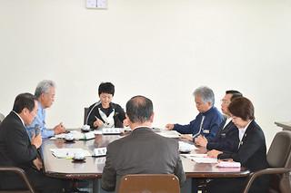 竹富町教育委員会を八重山採択地区から分離する検討に入った第6回県教育委員会定例会=16日午後、県庁