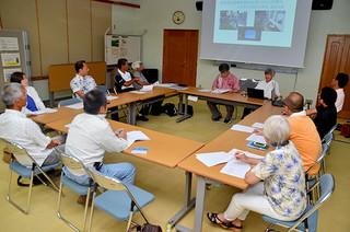 初の通常総会を開いたNPO法人石西礁湖サンゴ礁基金=25日午後、国際サンゴ礁研究・モニタリングセンター