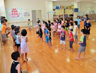年間2万人以上に利用されている子どもセンター=21日午後、石垣市健康福祉センター内