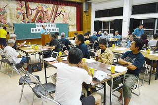 平得村結願祭の日程を決定した同実行委員会=29日夜、平得公民館