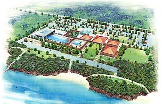 水族館の完成予想パース(案)