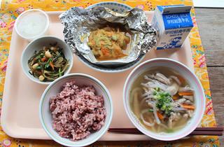 第9回全国学校給食甲子園に出品する献立=首藤由佳さん提供