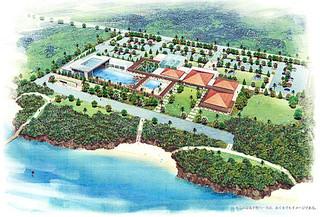 水族館の完成予想イメージ