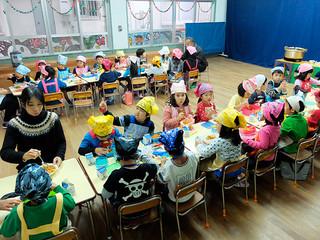 2016年度から昼食の提供が始まる幼稚園の一つ、みやまえ幼稚園=5日