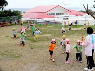 2015年度の施設整備で定員が480人増加する見通しとなっている認可保育園。待機児童解消が進むことになる=9日午前、みやら保育園