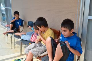 3月31日で閉所となった天川学童クラブ=3月31日午前、天川公民館