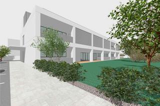 基本計画で示された福祉避難所兼ふれあい交流施設のイメージ
