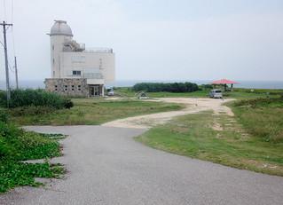 駐車場などの整備が計画されている波照間島星空観測タワー(竹富町提供写真)
