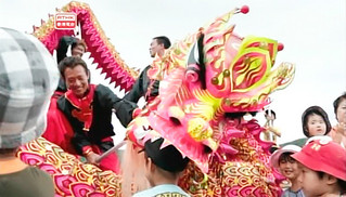 シカゴ国際映画祭のテレビ部門で金賞となったRTHKの番組「華人移民史(日本編)」の場面