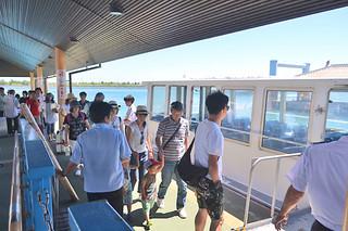 島時間体験パスポートの利用開始で船賃3割引き=30日午後、石垣港離島ターミナル