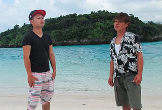パラ陸上応援ソング「風となれ~It's Jumpin Now!!~」を制作したAKARIのイシキヒカルさん(右)と南風野亘康さん(AKARI提供)