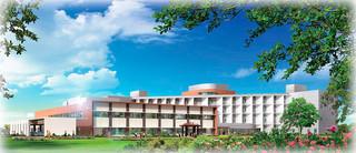 新八重山病院のイメージ図
