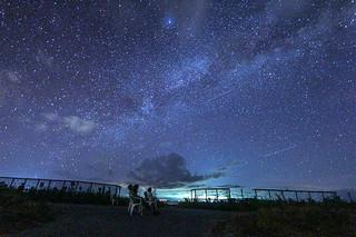 西表島で撮影された星空(八重山諸島星空information H2O提供写真)=7月22日午後9時30分ごろ