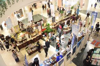 横浜市の複合商業施設ららぽーとで2日間開かれた「与那国フェア」=2月25日、横浜市都筑区