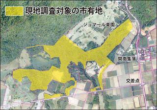 現地調査対象の市有地