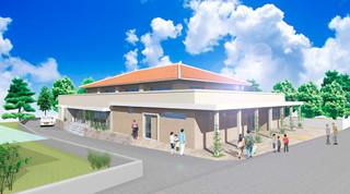 小浜集会所施設の完成イメージ図(東設計工房提供)