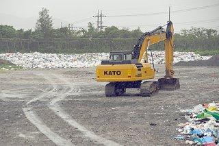 パブリックコメントで延命化などについて意見が求められている市一般廃棄物最終処分場=1月31日午前、同処分場