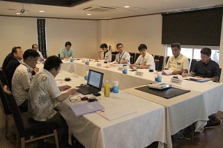 2018年度の八重山地区・分区長会議を行った日本赤十字社沖縄県支部=4日午前、市内ホテル