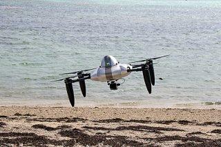 ㈱Nanseiが開発した着水型ドローン・水上着水機「Aqua」