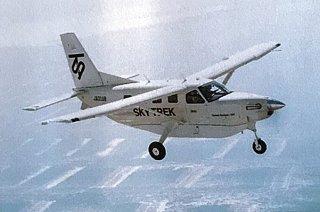 波照間路線で使用予定のKODIAK100型機=GOLDentertainment1895提供