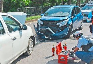 高齢者ドライバーの物損事故が増加傾向、人身事故率も県平均を上回っている(資料写真)