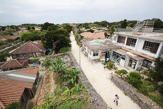 竹富島でも6月から宿泊予約が入り始めている(2020年3月13日撮影)