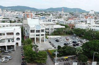 跡地利用計画が進む石垣市役所庁舎