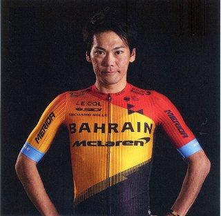 東京五輪自転車ロードレース代表選出が確実となった新城幸也(バーレーン・マクラーレン)=(新城貞美さん提供)