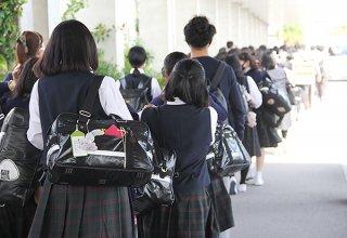 20年度中、八重山地方を訪れた修学旅行数は42校にとどまった=2020年10月27日、南ぬ島石垣空港