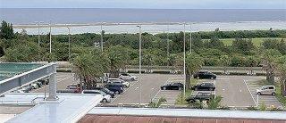 スーパーシティ構想で石垣市がイメージとして挙げる南ぬ島石垣空港周辺=29日午後